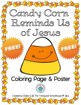 Candy Corn Reminds Us of Jesus {FREEbie}