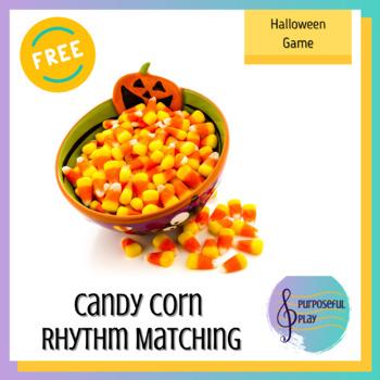 Candy Corn Rhythm Matching Freebie