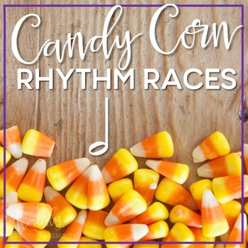 Candy Corn Rhythms: half note