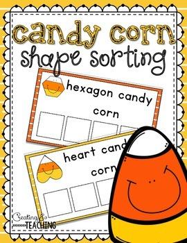 Candy Corn Shape Sorting