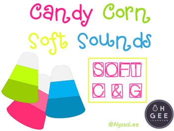 Candy Corn Soft Sounds- Orton Gillingham