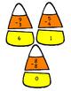 Candy Corn Subtraction Puzzles