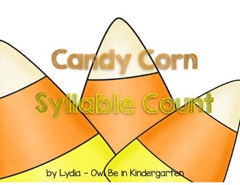 Candy Corn Syllable Counting