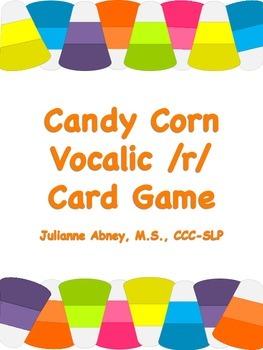 Candy Corn Vocalic /r/ Card Game