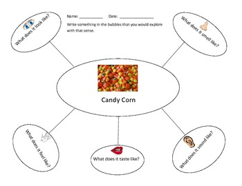 Candy Corn Writing Activity
