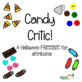 Candy Critic Notes for attributes