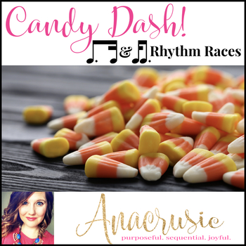 Candy Dash! - Dotted Eighth & Sixteenth Note Combinations