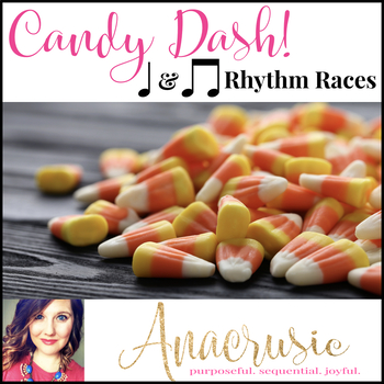 Candy Dash! - Quarter Note & Eighth Note Rhythm Games