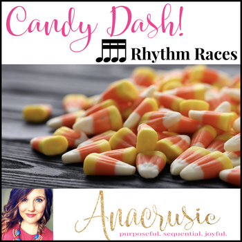 Candy Dash! - Sixteenth Notes Rhythm Games