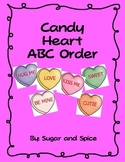 Candy Heart ABC Order