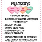 Candy Heart Fractions {Valentines Math}
