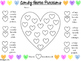 Candy Heart Identifying Fractions