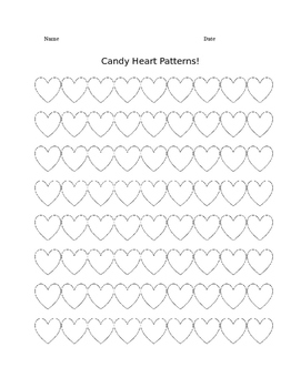 Candy Heart Patterns!