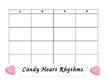 Candy Heart Rhythms