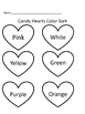 Candy Hearts Sort, Chart and Graph