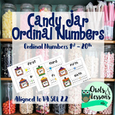 Ordinal Numbers 1st through 20th