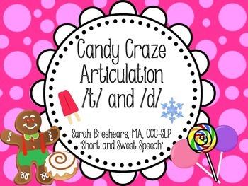 Candy Craze Articulation: /t/ and /d/