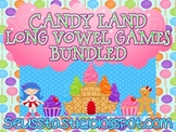 Candy Land Long Vowel Games (Bundled)