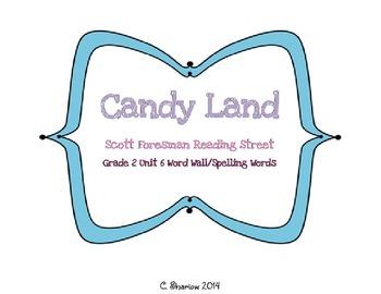 Candy Land - Scott Foresman Reading Street Unit 6