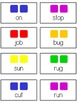 Candy Land - Short Vowels - Word Work Folder Game - Common