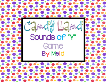 "Candy Land Sounds of ""Y"" Game"