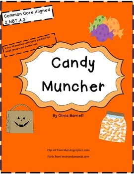 Candy Muncher Common Core Card Card