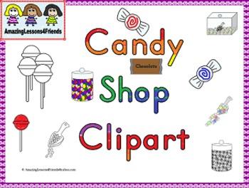 Candy Shop Clipart