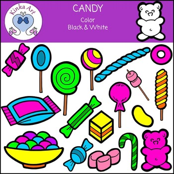 Candy / Sweets / Lollies Clip Art