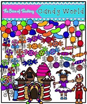 Candy World (Clipart Set)