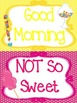 Candy themed Behavior Clip Chart-5 Cards