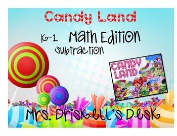CandyLand Math Edition: Subtraction K-1
