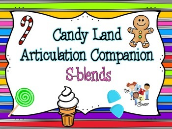 Candyland Articulation Companion - S-blends