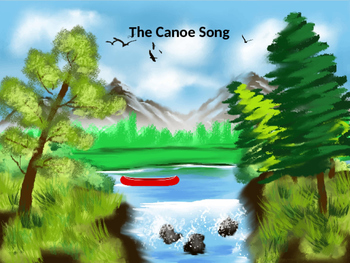 Canoe Song:Solfege and Rhythm with Orff Instrument parts,
