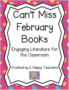 Can't Miss February Books: Engaging Literature for the Classroom