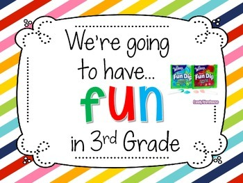 Back to School Treat Signs