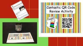"""Cantastic"" Density Review QR Code activity"