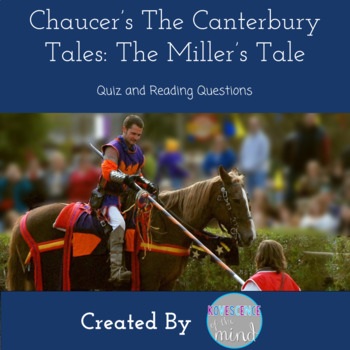 Canterbury Tales Miller's Tale Quiz