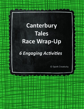 Canterbury Tales Wrap-Up Activities, ELA