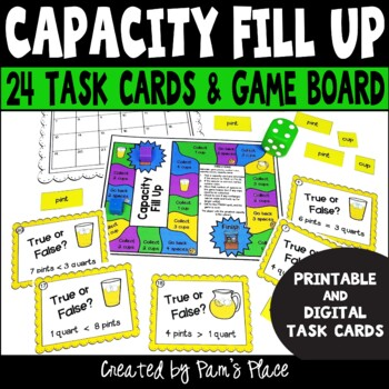 Capacity Activities with Task Cards