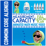 CAPACITY Worksheets ★ With Capacity Game ★ Capacity Video