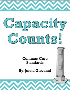 Capacity Counts!: A Unit on Volume