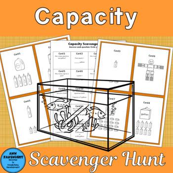 Capacity Scavenger Hunt with bonus practice