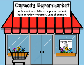 Capacity Supermarket: Capacity in Customary Units