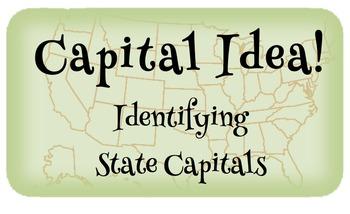 Capital Idea!  Identifying U.S. Capital Cities