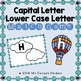 Capital Letter and Lower Case Letter Match Game - Transpor