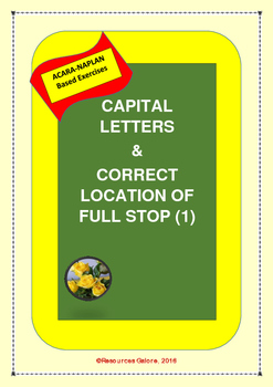 Capital Letters & Correct Location of Full Stop (1)