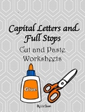 Capital Letters and Full Stops- Cut and paste