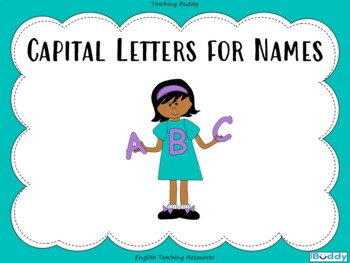 Capital Letters for Names PowerPoint