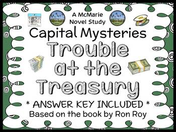 Capital Mysteries #7: Trouble at the Treasury (Ron Roy) No