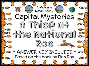 Capital Mysteries #9: A Thief at the National Zoo (Ron Roy